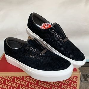 VANS ERA PLATFORM ANIMAL EMBOSS/BLACK WMNS